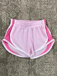 Funtasia Too Pink Seersucker/Pink Side Shorts