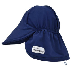 Flap Happy Navy Swim Flap Hat