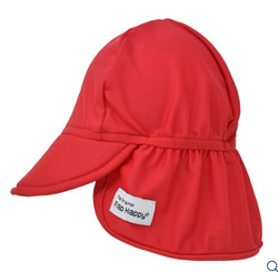 Flap Happy Red Swim Flap Hat