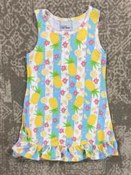 Flap Happy Pineapple Passion A-Line Dress