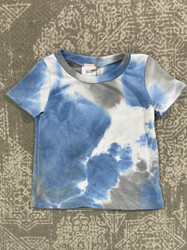 For All Seasons Multi Ty Dye French terry Top