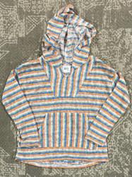 For All Seasons Multi Knit Stripe Baja Pullover