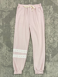 For All Seasons Blush French Terry Joggers