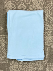 Pastel Receiving Blanket- Blue