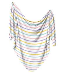 Rainbow Stripe Swaddle