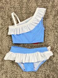 Funtasia Too Blue/White Tankini