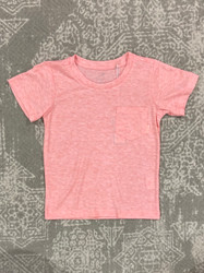Properly Tied Coral Portland Pocket Tee