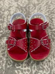- Foot Mates Red Ariel Sandal