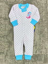 Magnolia Baby Little Mermaid Zipper Pajama