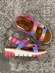 Mia Deisy Tristan Rainbow Platform Sandal