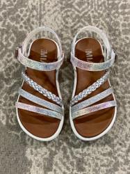 Mia Little Miss Silver Metallic Sandal
