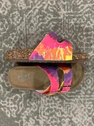 Mia Deisy Daisy Rainbow 2 Strap Buckle Sandal
