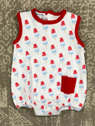 Magnolia Baby Ice Pops Printed Sleeveless Bubble