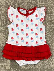 Magnolia Baby Ice Pops Printed Ruffle Bubble