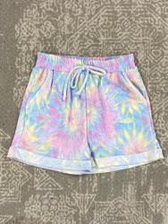 For All Seasons Tie Dye Pocket SHorts