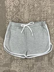 For All Seasons Grey/Ivory Short