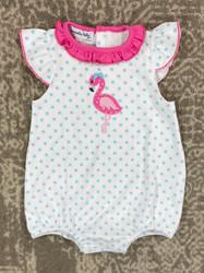 Magnolia Baby Flamingo Ruffle Bubble