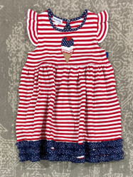 Magnolia Baby 4th Of July Ice Cream Flutter Dress