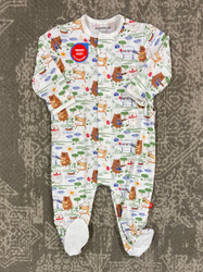 Magnificent Baby BBQ Bears Magnetic Footie