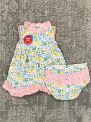 Magnificent Baby Citrus Bloom Magnetic Dress Set