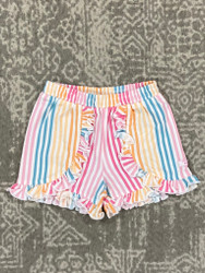 Ruffle Butts Daydream Stripe Shorts