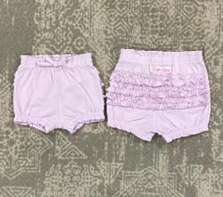 Ruffle Butts Lilac Bubble SHorts