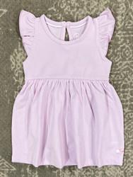 Ruffle Butts Lilac Flutter Dress