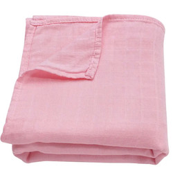 Ali+Oli Muslin Swaddle- Pink