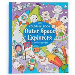 Color-in Book- Space