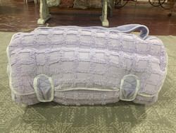 Ozark Mountain Lavender Chenille Plush Nap Mat