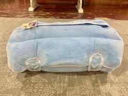 Ozark Mountain Baby Blue Plush Nap Mat