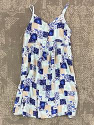 Hayden Mint Patchwork Dress