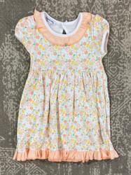 Magnolia Baby Citrus Bouquet Printed Dress