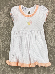 Magnolia Baby Citrus Bouquet Embroidered Dress