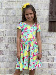 Charlies Project Pink Lemonade Twirl Dress
