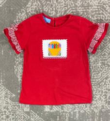 Anavini Red Crayons GirlTee
