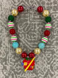 Apple Chunky Bead Necklace