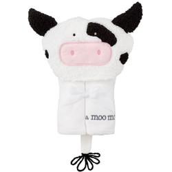 MudPie Cow Hooded Towel