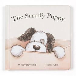 Jelly Cat Scruffy Puppy Book