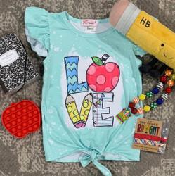 Love School Graphic Shirt
