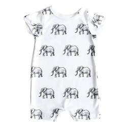 Organic Elephant Romper
