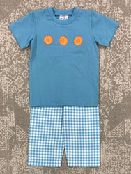 Three Sisters Boys Pumpkin Pant Set