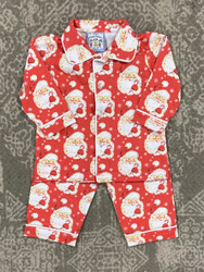 Three Sisters Boys Vintage Santa Knit 2 Pc Set