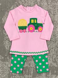 Bailey Boys Hay Tractor Girls Tunic Set
