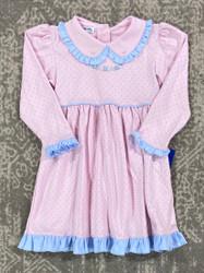 Magnolia Baby Celeste's Classic Emb. Toddler Dress