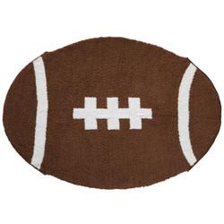 Mud Pie Chenille Football Blanket
