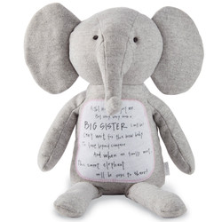 Mud Pie Big Sis Elephant