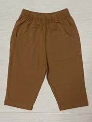 Lily Pads Camel Boy Knit Pants with Pockets