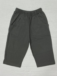 Lily Pads Charcoal Boy Knit Pants with Pockets