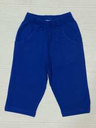 Lily Pads Royal Boy Knit Pants with Pockets
